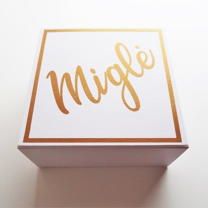 Magnetinė dovanų dėžutė su užrašais