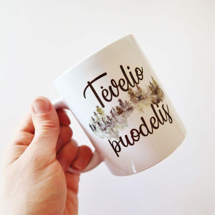 "Puodelis ""Tėvelio puodelis"""
