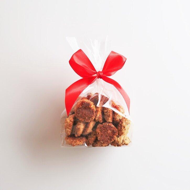 Avižiniai sausainiai su chia ir medumi