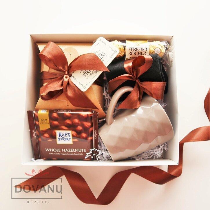 """Dovanų rinkinys vyrui """"Šokoladinė dėžutė"""""""